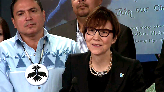 Cindy Blackstock refuses funding from INAC saying it failed 'ethical screen' test on anniversary of historic ruling