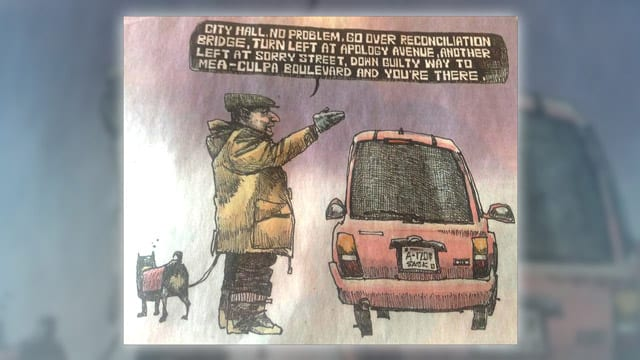 Calgary Herald cartoon