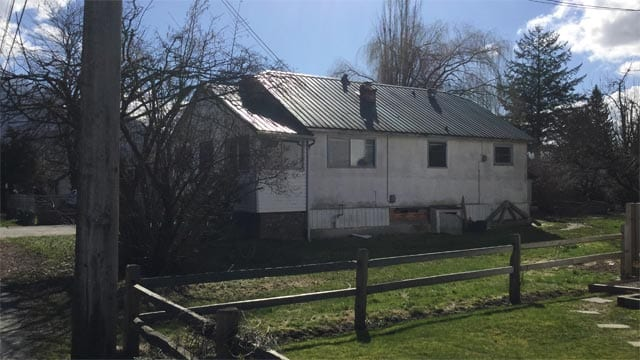 Eva May Nelson home she lived in from 1954 to when she died in May 2015 in Rosedale, B.C.