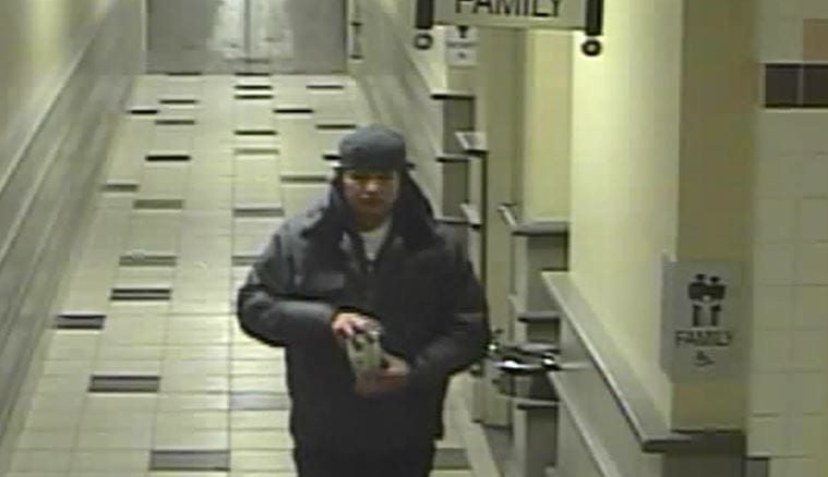 Camera image of Jordan Wabasse in a Thunder Bay mall on Feb. 7, 2011, the last night he was seen alive.