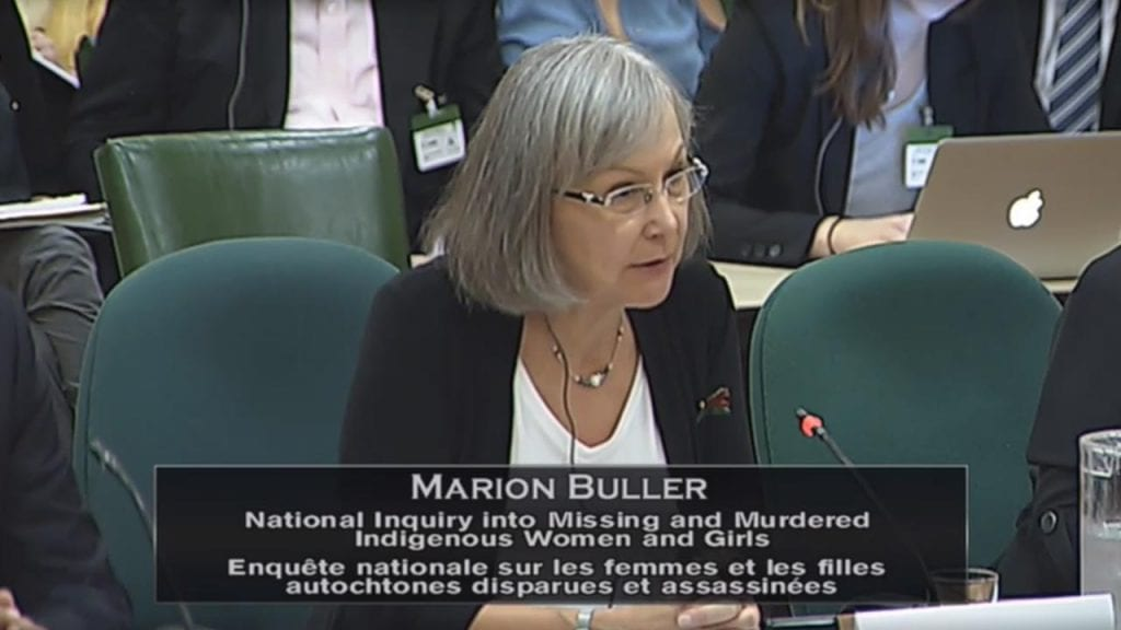 Chief Commissioner Marion Buller