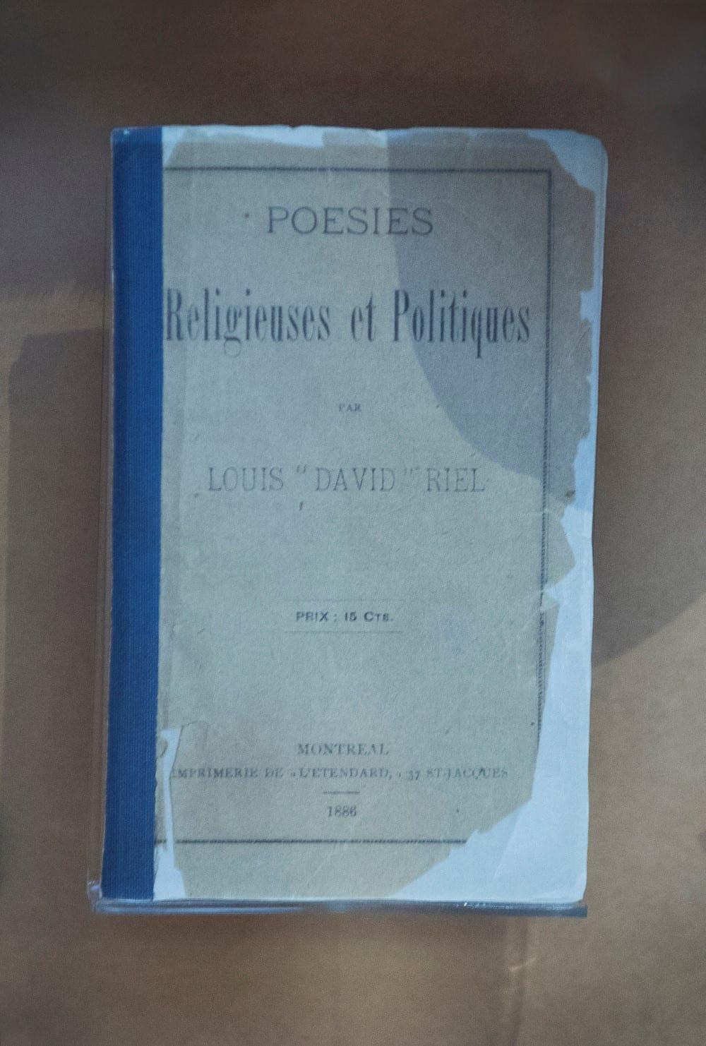 Louis Riel - Religieuses et Politiques