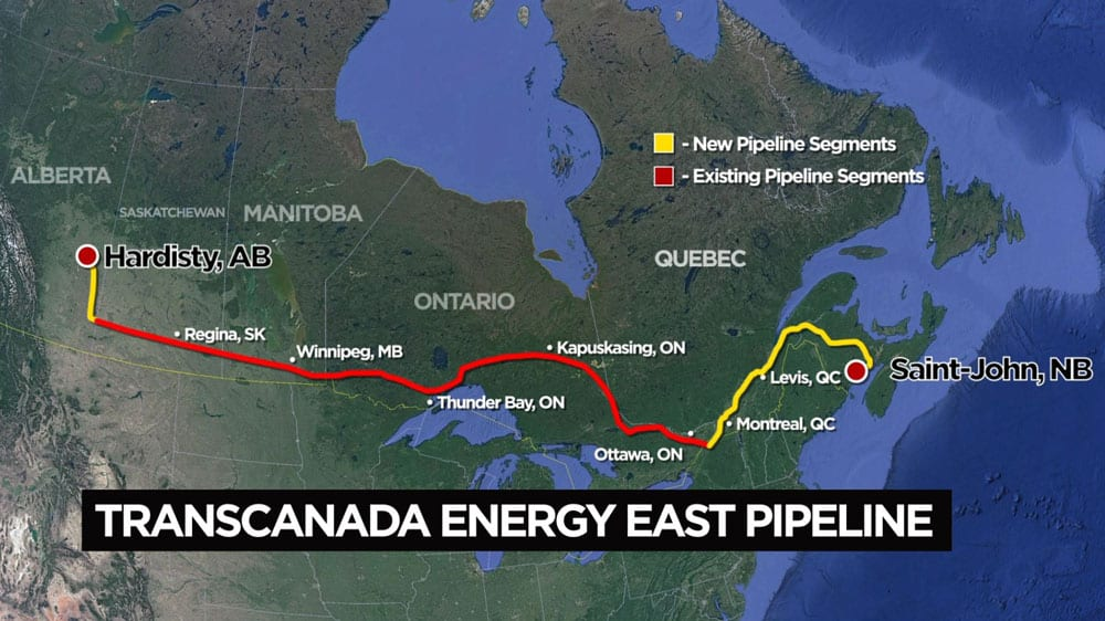 TransCanada requests one-month suspension of Energy East review