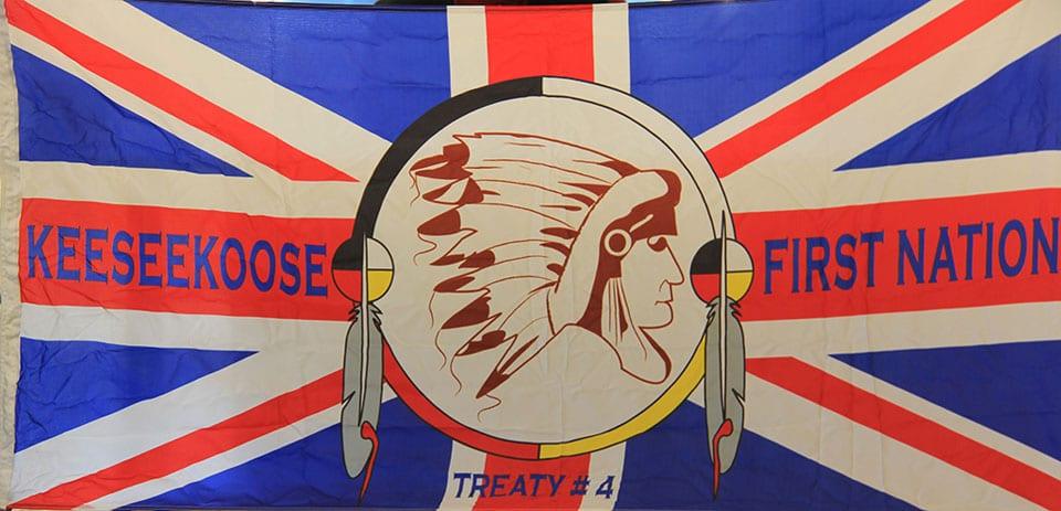 Keeseekoose First Nation flag
