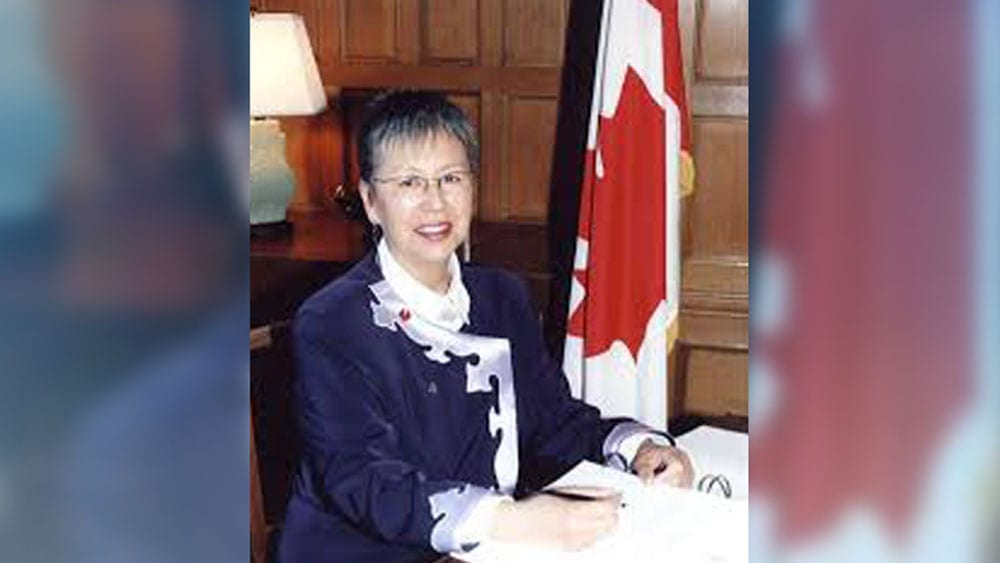 Sen. Lillian Eva Dyck says a government amendment will restore full legal status to First Nations women.