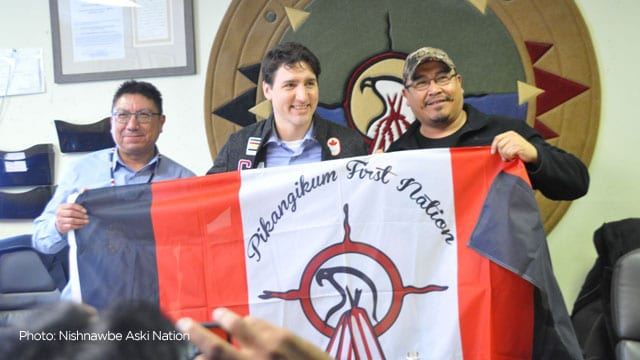 Trudeau Promises To Help First Nation Reserve With Housing Shortage