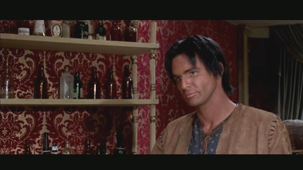 Burt Reynolds as Navajo Joe in Navajo Joe. Film industry (1966)