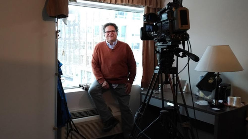 Jesse Wente on the film industry. Photo John Murray/APTN