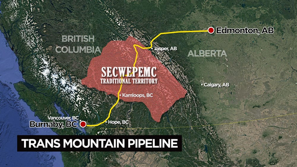 Travelling The Pipeline Why The Secwepemc Nation Is