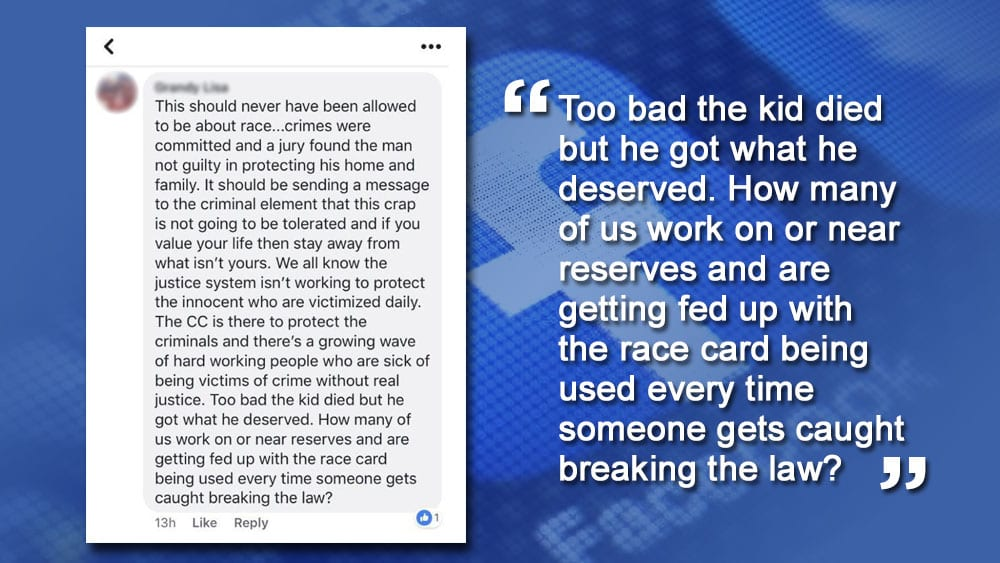RCMP Facebook post