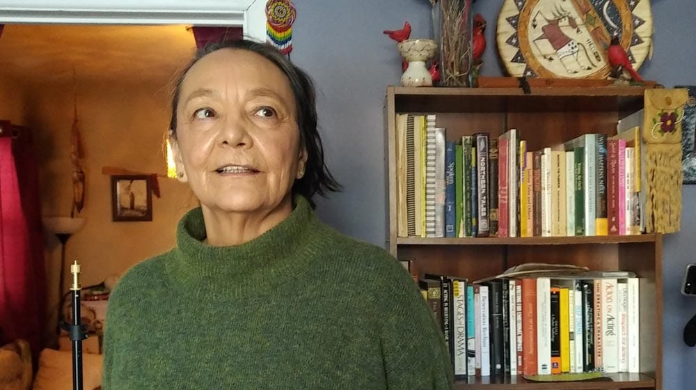 Actress Tantoo Cardinal on the film industry Photo John Murray/APTN
