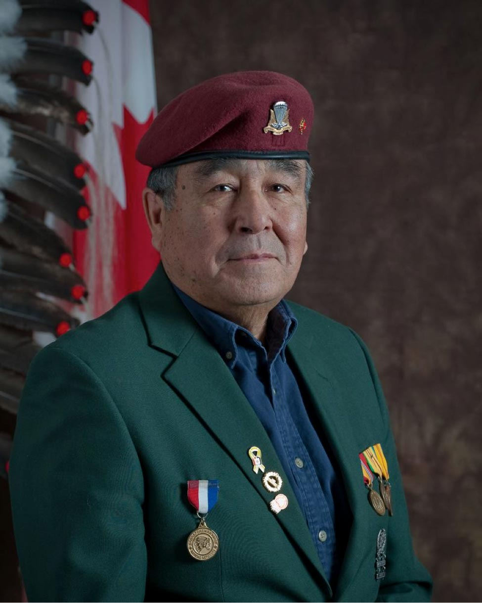 Emile Highway served with the Canadian Armed Forces for 20 years.