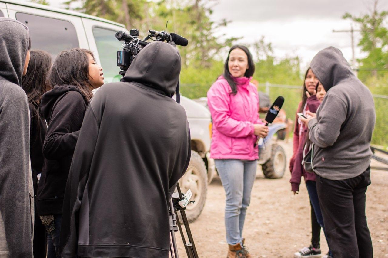 Pikangikum First Nation in Ontario.