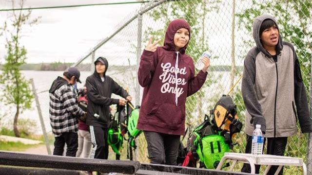 Police help Pikangikum youth build safer community - APTN