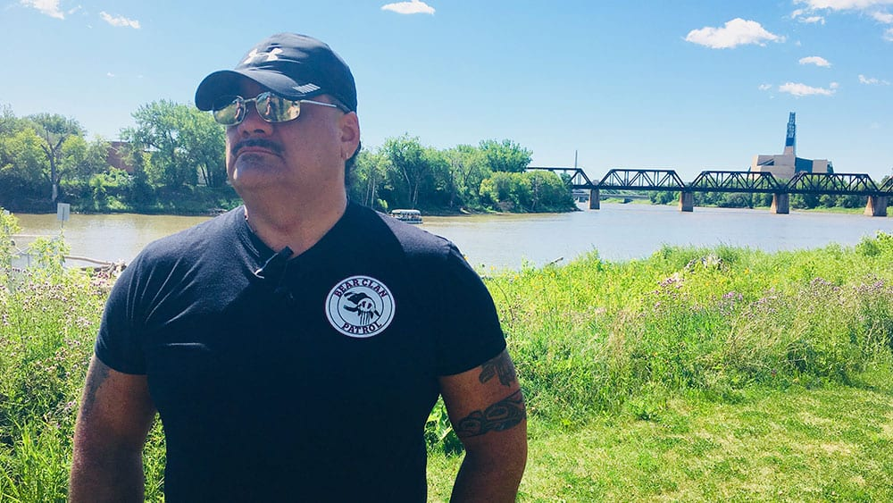 James Favel, executive director of the Bear Clan Patrol Inc., said Tina Fontaine's death was the last straw for him. He now dedicates his life to protecting the vulnerable. Photo: Martha Troian/APTN Investigates
