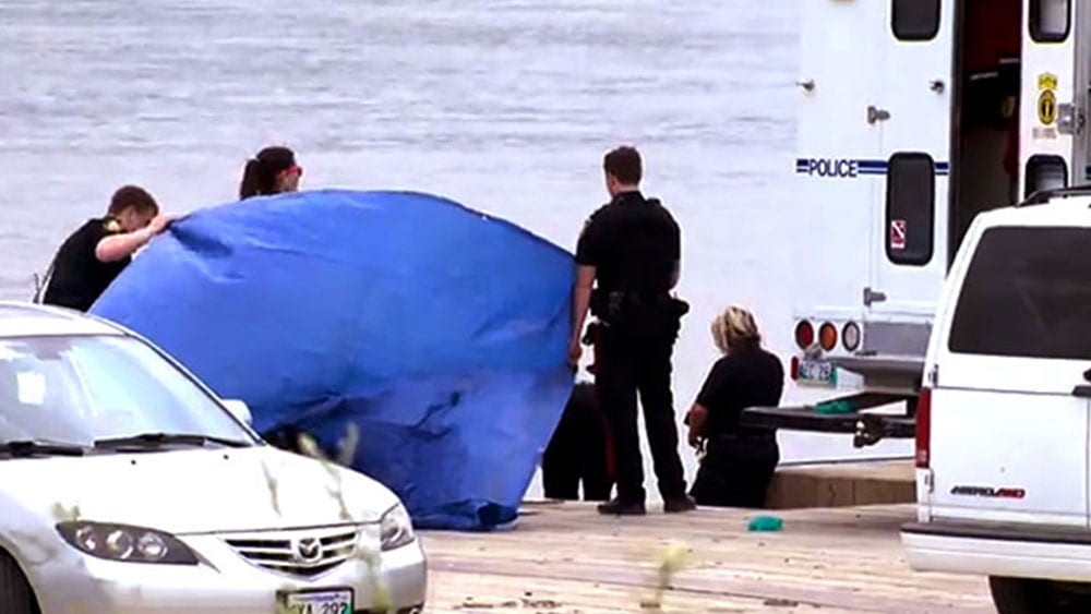 Tina Fontaine's body was pulled out of Winnipeg's Red River on August 17, 2014. Photo: APTN National News