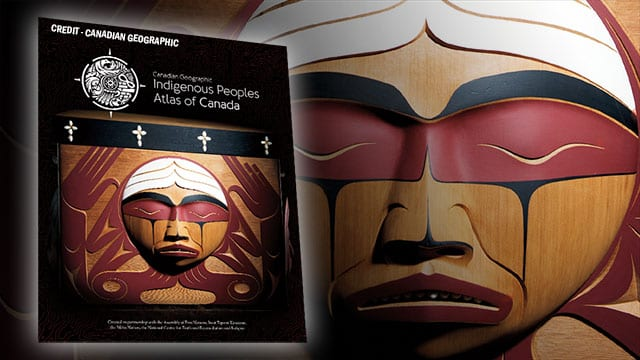 The cover of a new atlas created by Indigenous people in Canada.