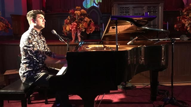Singer Jeremy Dutcher. Photo: Angel Moore/APTN