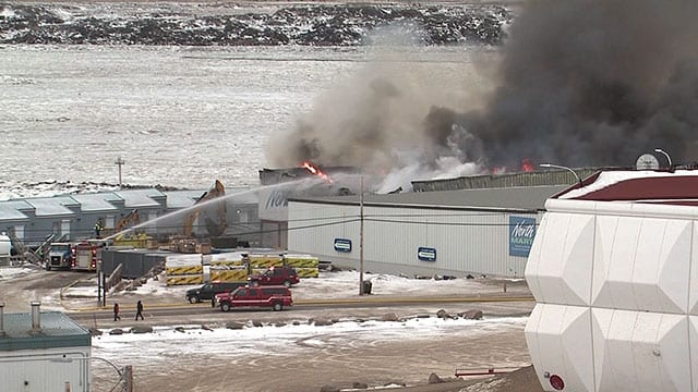 Local girl charged with setting devastating grocery store fire in Iqaluit