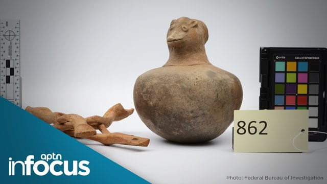 Returning Indigenous artifacts part of reconciliation but still a struggle - APTN News