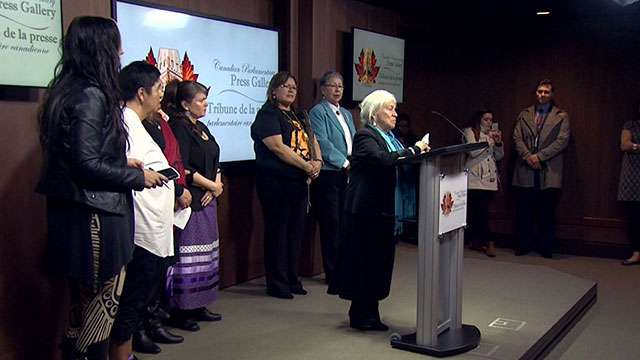 Image result for Women leaders rip Ottawa for not ending Indian Act discrimination