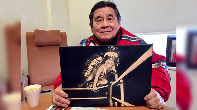 Mohawk Elder Billy Two Rivers talks wrestling, the Oka Crisis, and being a grandparent - APTN News