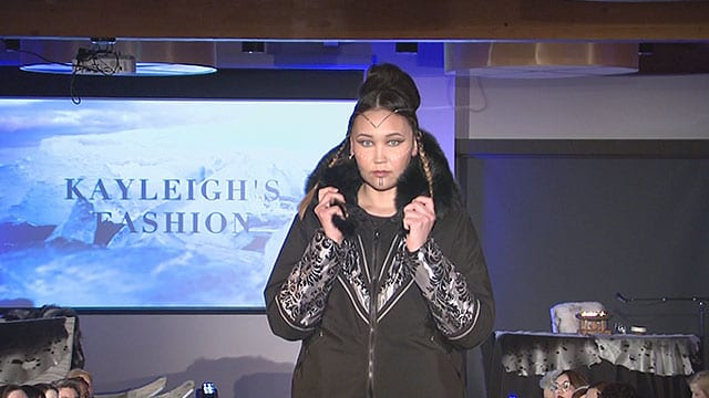 Nunavut fashion show in Iqaluit by Inuit, for Inuit