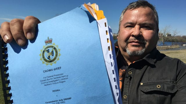 Mohawk man beats Canada Customs on illegal search case