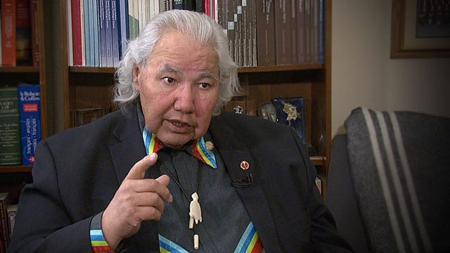 Murray Sinclair warns of violent rebellion if Indigenous rights continue to be oppressed - APTN News