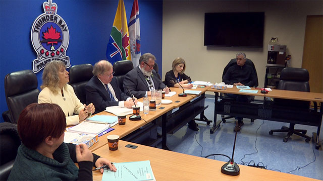 Thunder Bay police services board member removed, chief wants mayor gone, too - APTN News