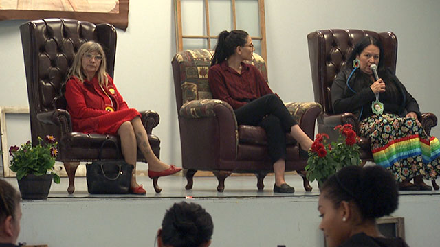 First Nation hosts women's empowerment workshop to honour MMIWG, educate on violence - APTN News