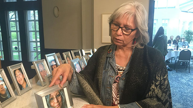 Families come together in Winnipeg to watch release of national inquiry's report - APTN News