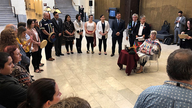 'It's so important, it needs to be passed': Youth tell Senate that they want UNDRIP passed - APTN News