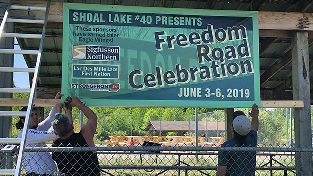 Shoal Lake 40 First Nation celebrates the official opening of Freedom Road - APTN News