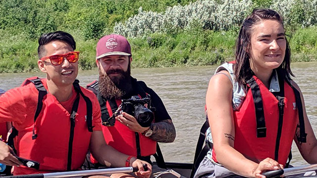 Metis 'Paddle into the Past' in Alberta takes participants back in time - APTN News