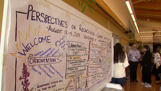 Post-secondary leaders visit Yukon to learn about reconciliation - APTN News