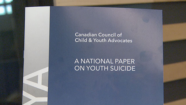 Conservatives, NDP promise national suicide prevention strategy if elected - APTN News