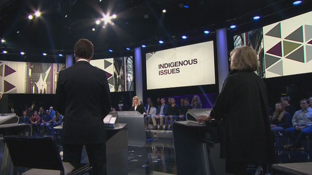 UNDRIP, pipelines and the relationship with Indigenous Peoples in the federal leaders' debate - APTN News