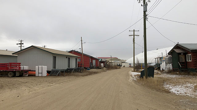 Residents of Old Crow in the Yukon have front row seat to climate change - APTN News