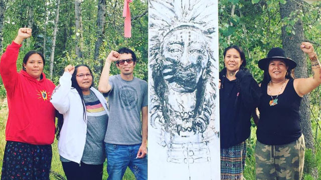 Kanahus Manuel arrested, injured during pipeline protest say Tiny House Warriors - APTN News