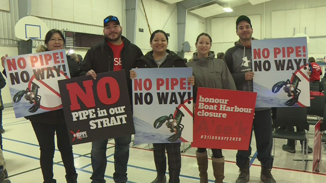 Image result for APTN: Nova Scotia premier keeps his promise to Pictou Landing to stop environmental racism
