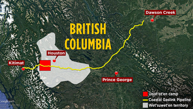 B.C. environmental agency puts portion of Coastal Gaslink pipeline on hold - APTN News