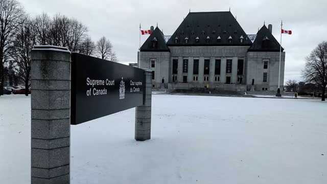 Four First Nations have their say at the Supreme Court hearing over Trans Mountain expansion - APTN News
