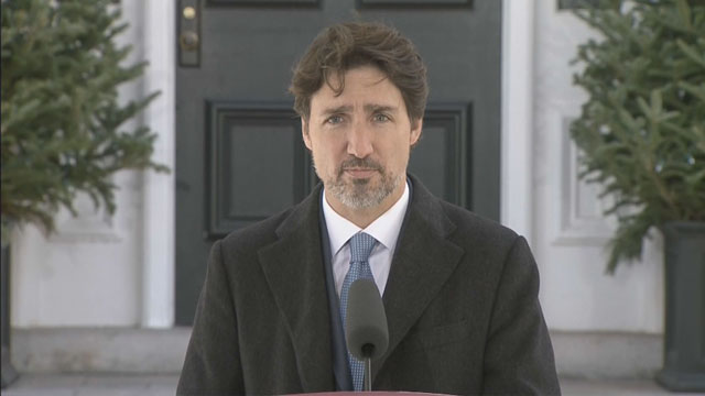 'Look to our neighbours': Trudeau says community, from a distance, can help ease stress of pandemic - APTN News