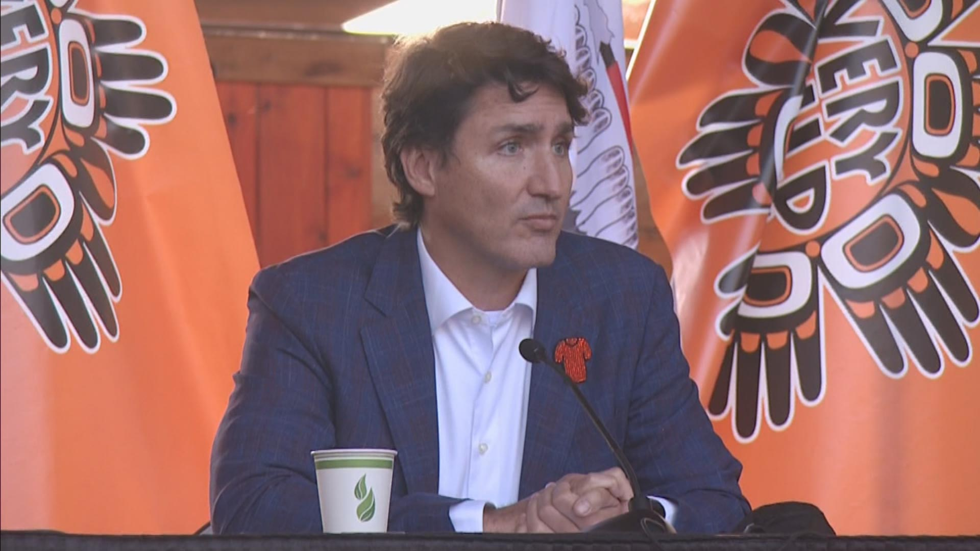 Trudeau should 'resign' over school documents comment says chief in B.C.