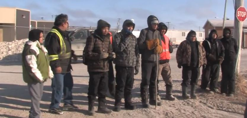A group of walkers from Attawapiskat, Kashechewan and Fort Albany First Nation went on a healing walk last week in response to suicide crisis gripping their communities.