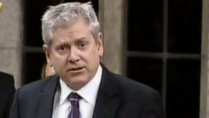 NDP MP Charlie Angus during question period Thursday.