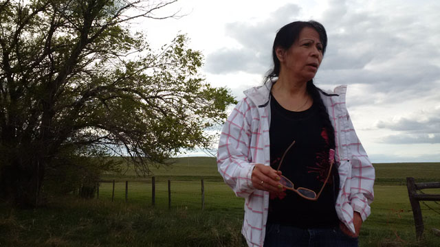 Connie on the ranch