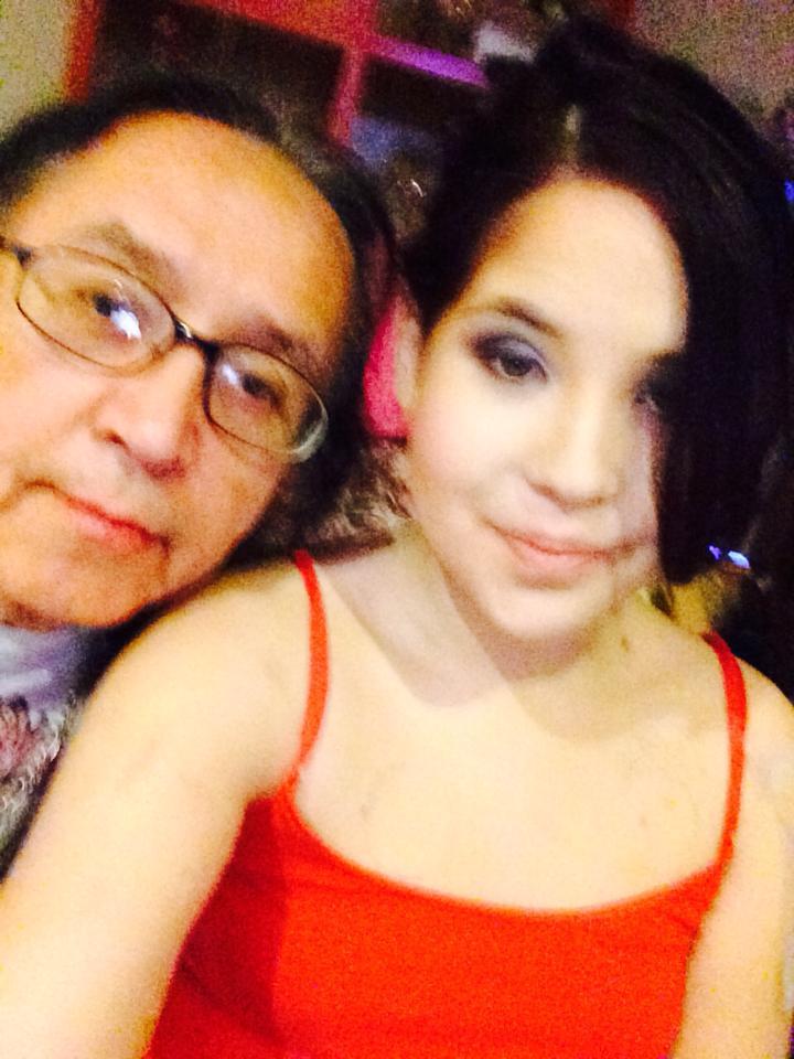 Ieweras and her father Sakoietah