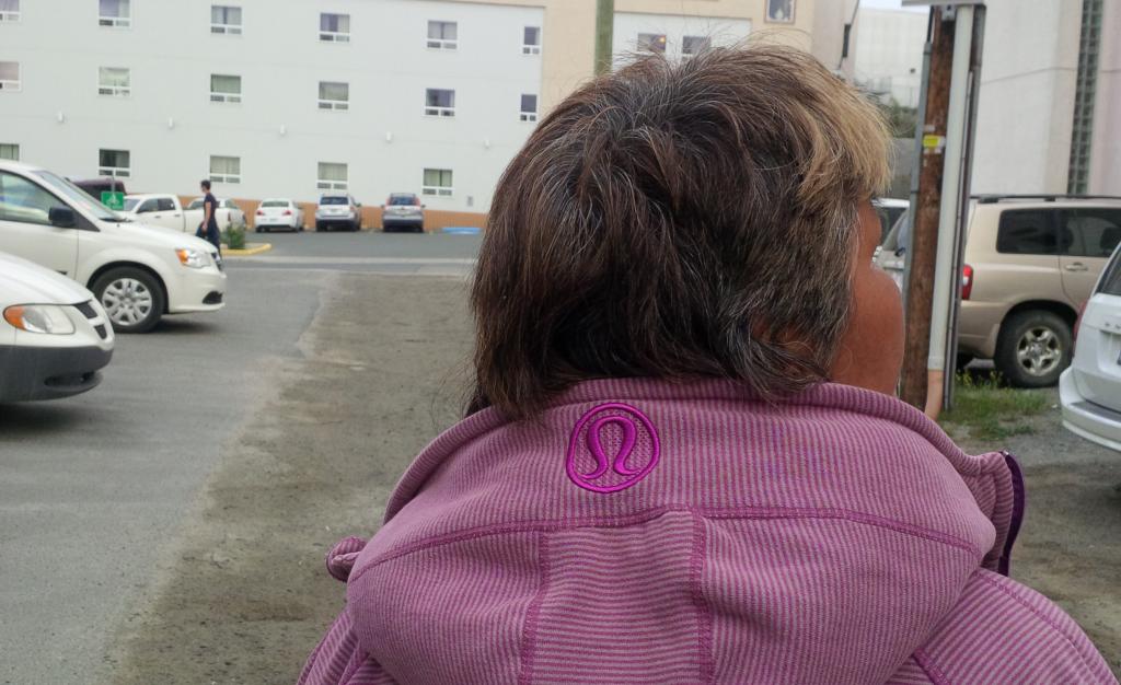 'Sophie's' Lululemon jacket.